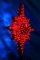 Макушка на елку Полярная звезда